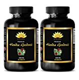 Natural fat burner for women - HOODIA GORDONII EXTRACT 2000mg - Weight loss hoodia - 2 Bottles 120 Tablets