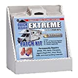 Cofair UBE88-DISPLAY Quick Roof Extreme Patch with Applicator - 8'' x 8'', 12 Pack Display,