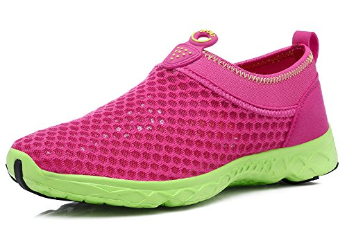Ausom Women's Breathable Running Shoes Walk Beach Aqua Outdoor Water Rainy Athletic Drive Sneakers