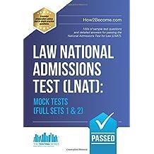 Law National Admissions Test (LNAT): Mock Tests Full Sets 1 & 2