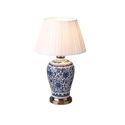Lamps Creative Ceramic Table Lamp, Bedroom Bedside Lamp, Hand ...