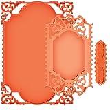 Spellbinders S6-003 Nestabilities Enchanted Labels 28-Die Templates, 5 by 7-Inch