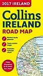 2017 Collins Map of Ireland