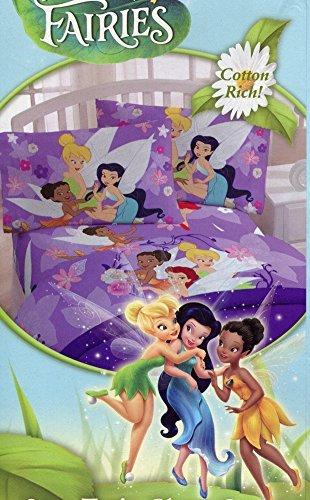 "Franco Disney Fairies Tinkerbell ""Seasons"" 2-pc. Twin Siz..."
