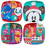 Disney Mickey Mouse and Friends Holiday Cheer Plate Set - 4-Pc. MUTLI465019447268