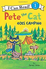 Pete the Cat Goes Camping (I Can Read Level 1) Paperback