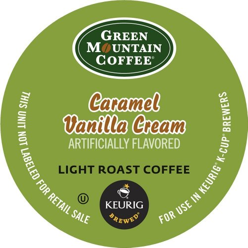 Sweet Coffee Keurig - Keurig, Green Mountain Coffee, Caramel Vanilla Cream, K-Cup Packs, 24 Count