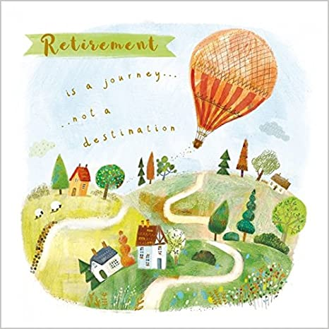 Jubilación es un viaje NO un destino tarjeta de felicitación de ...