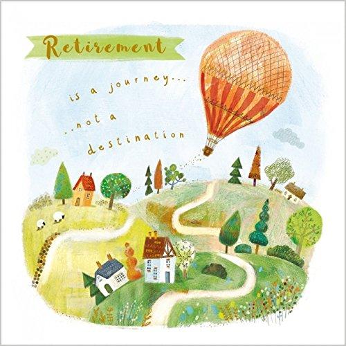 Jubilación es un viaje NO un destino tarjeta de felicitación ...