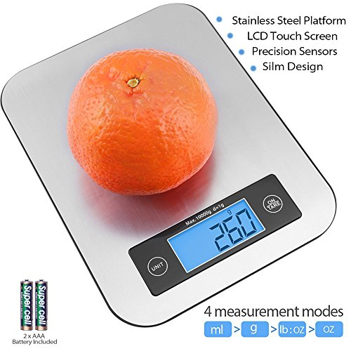 10Kg X 1g Digital Electronic Food Weight Scale Balance() - 3
