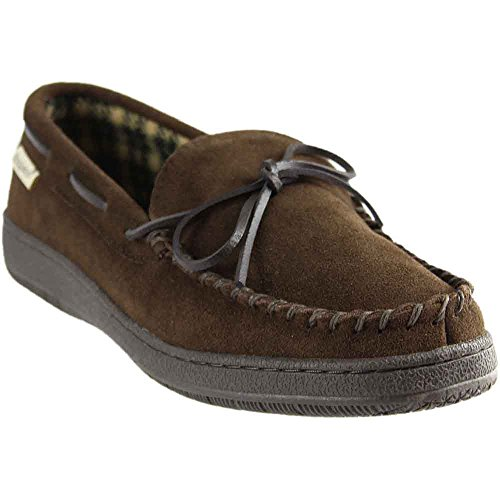 L.B. Evans Men's Hideaways Marion Slipper Chocolate