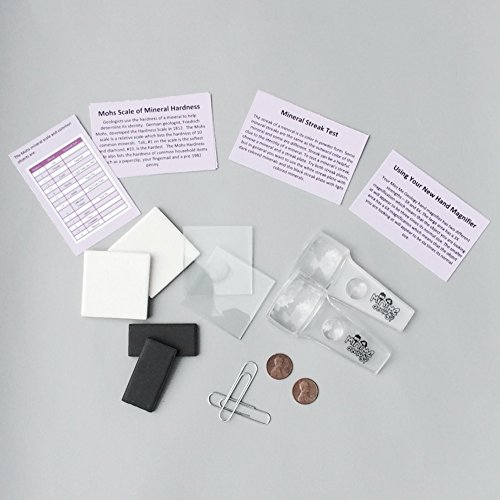 Mohs Hardness Scale - Rock & Mineral Testing Kit