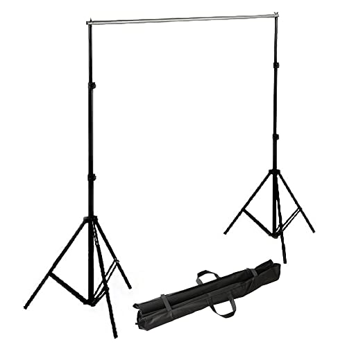 RPGT Photography Camera Photo Studio 2x2M Background Tripod Support Stand Kit with Carring Bag