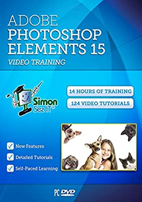 Master Adobe Photoshop Elements 15 Video Training Tutorials - 14 Hours of Training