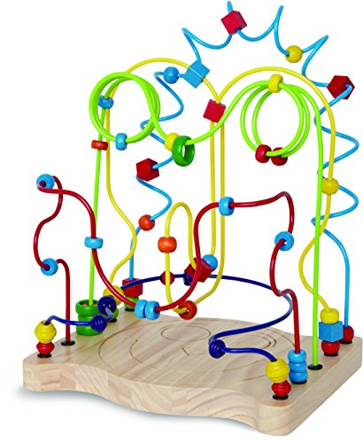 Hape Funny Face Kid's Wooden Bead Maze by Hape