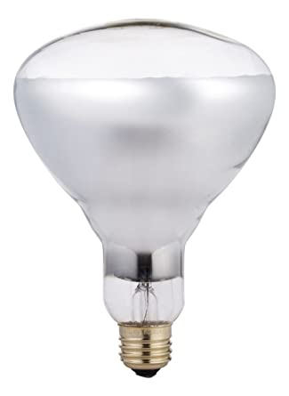 528c379dca20 Phillips 416743 Heat Lamp 250-Watt BR40 Clear Flood Light Bulb -  Incandescent Bulbs - Amazon.com