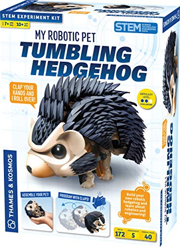 Tumbling Hedgehog is a new top toy for girls