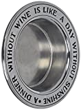 Wilton Armetale Wine Bottle Coaster, A Dinner Without