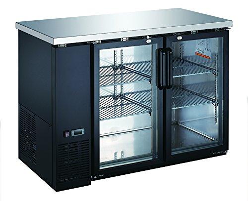 UBB-24-48G Glass Back Bar Cooler ( ()