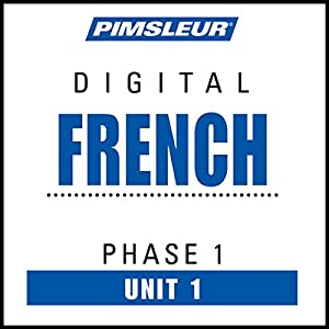 French Phase 1, Unit 01 Audiobook