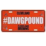 Siskiyou NFL Cleveland Browns Hashtag License Plate