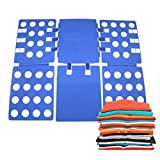 ixaer Clothes Folding Board Adjustable Magic Fast Folder Clothes T-Shirts Folding Board Lazy Folding Board Laundry Folder Organizer