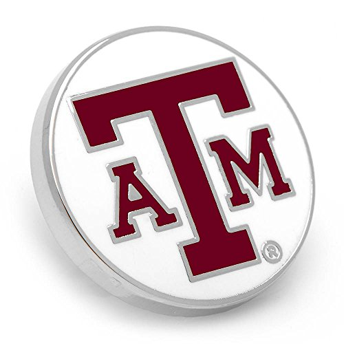 Cufflinks Inc. NCAA Texas A&M Aggies Lapel Pin, Officially Licensed