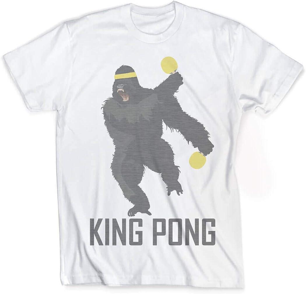 ChalkTalkSPORTS King Pong T-Shirt   Vintage Faded Ping Pong T-Shirt   Adult Sizes