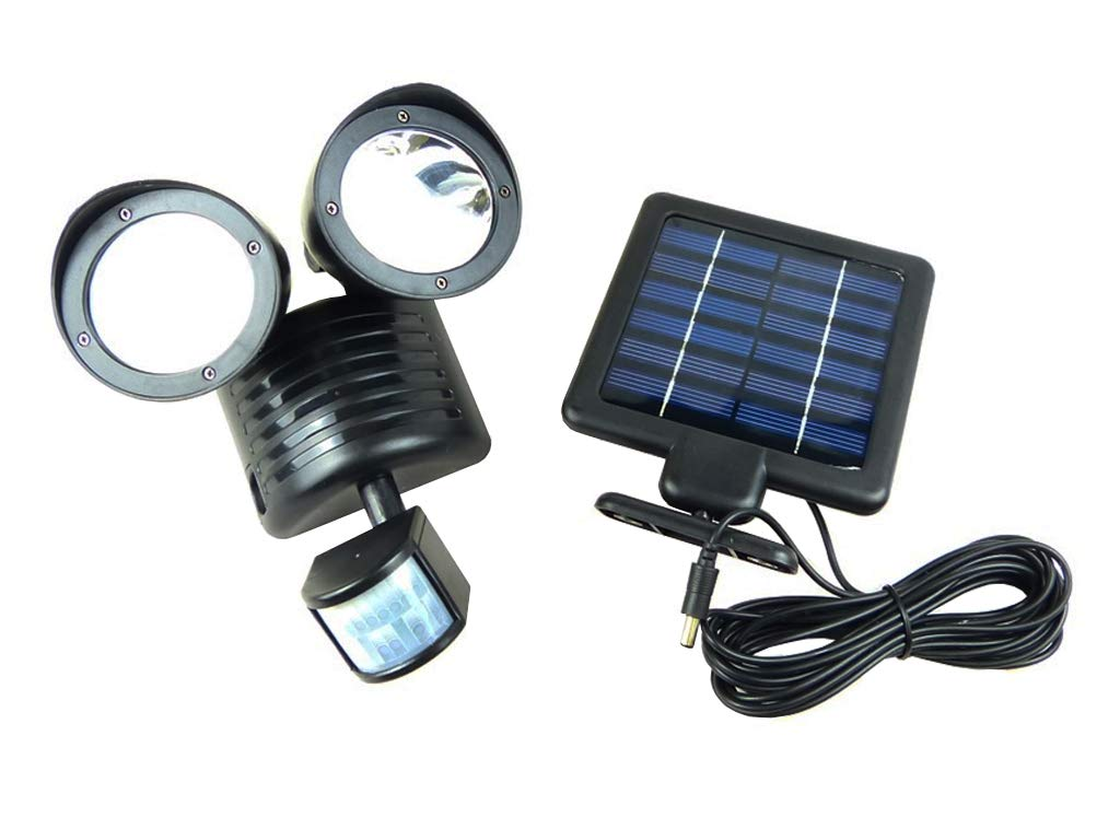 22LED Solar Powered PIR Motion Sensor Security Light Outdoor Garden Wall Lamp
