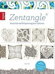 Zentangle: Kreativität und Entspannung beim Zeichnen ((mit Button: Der neue Trend / Zentangle / Beim Zeichnen entspannen))