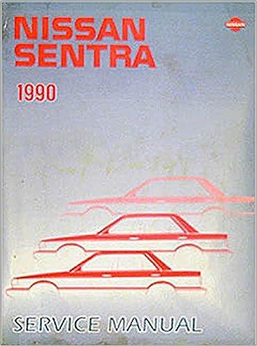 1998 nissan sentra sr factory service manual download