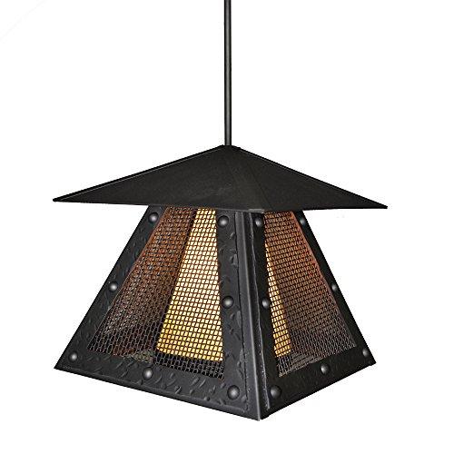 Steel Partners Lighting 2174-M-P-AB-BG Prairie Rogue Rive...