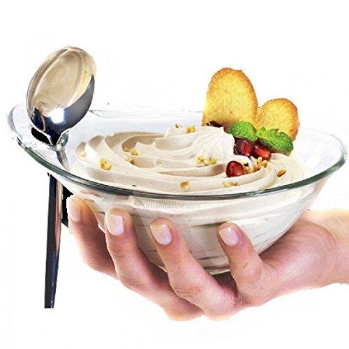 fabricado en Italia Pack de 6/cuencos para helado o aperitivos cuencos de la gama Borgonovo cristales practica di/ámetro 14/cm