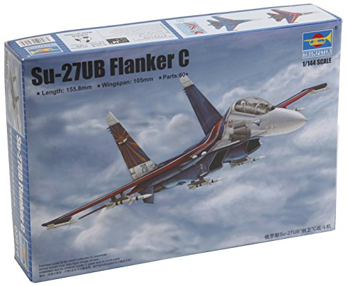 Trumpeter 1 144 (Trumpeter SU27UB Flanker C Russian Fighter Model Kit (1/144)