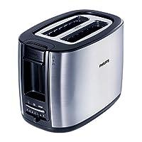 Philips HD2628/20 Toaster aus Edelstahl, 950 Watt, 7 Bräunungsstufen, Silber