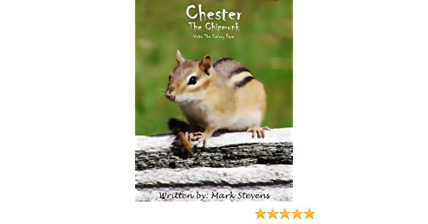 Chester The Chipmunk Visits The Celery Farm
