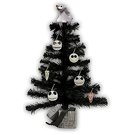 Amazon Com Nightmare Before Christmas Tree Head Ornaments Toys