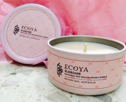Everyday Tin ECOYA Floriade Natural Soy wax candle 6 oz.