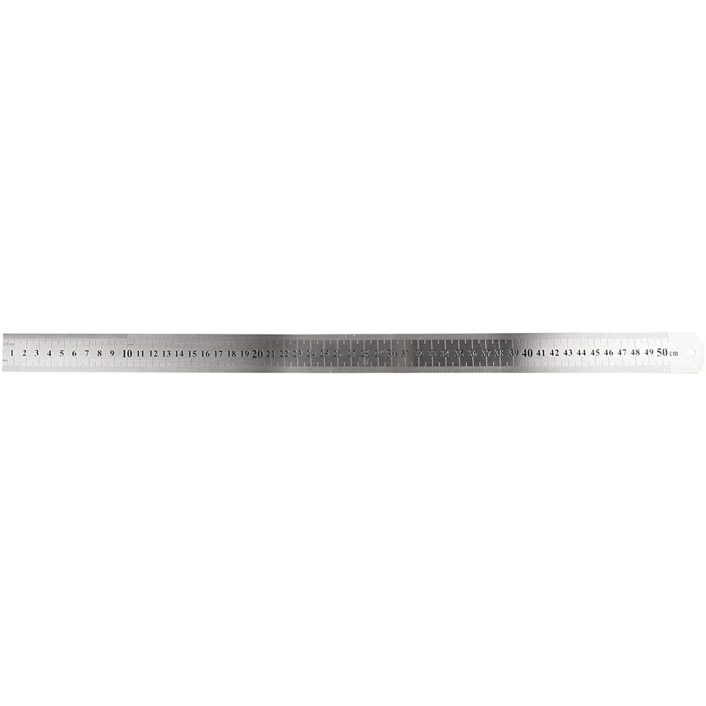 Righelllo in acciaio, L: 30 cm, 1pz Creativ Company
