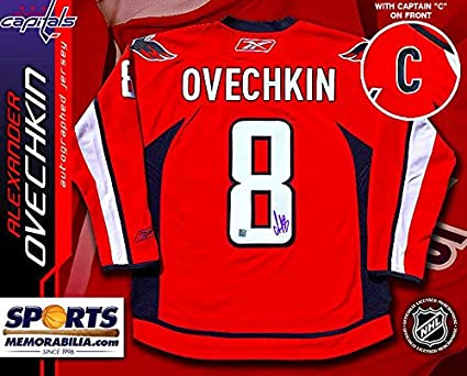 official ovechkin jersey