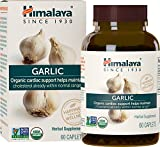 #10: Himalaya Organic Garlic for Immune, Heart and Cholesterol Support, 1400 mg, 60 Caplets