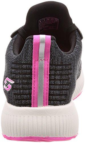 rosa 001 Skechers Negro Multicolor 31370bkpk black waqCx1qEn