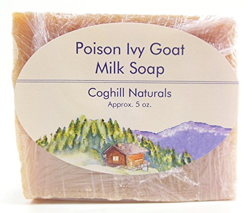 Poison Ivy Soap that Really Works. Made in USA with Jewelweed-Infused Goat Milk