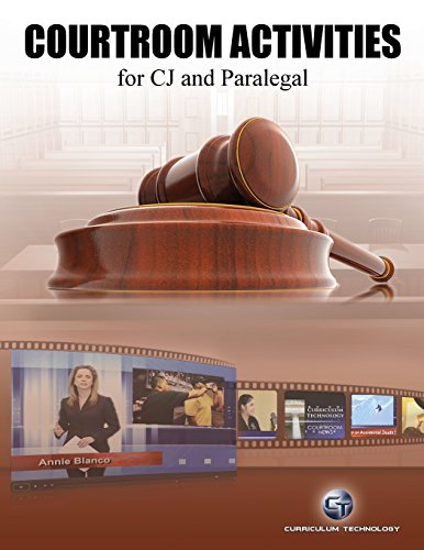 Courtroom Activites, for CJ and Paralegal