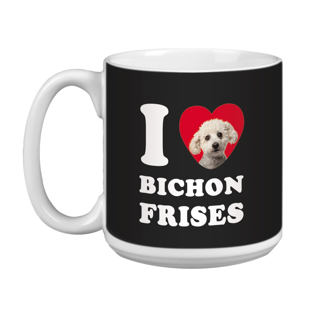 I Love Bichons Coffee Mug