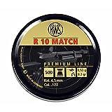 RWS R10 Match Competition-8.2 Grain-.177 Caliber Air Gun Pellets