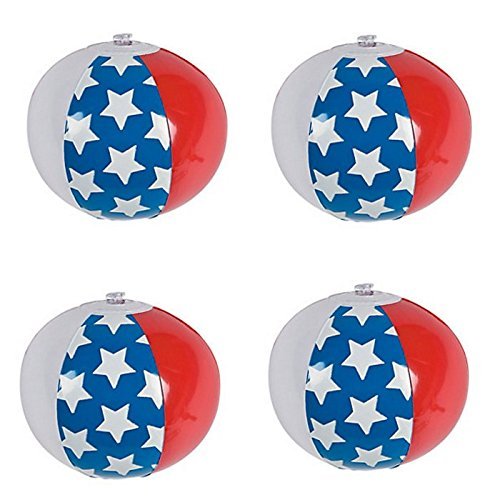 American Flag Beach Ball - 7