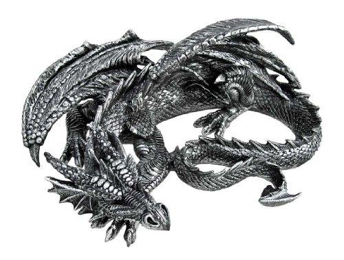 - Things2Die4 40 Winks Large Sleeping Dragon Gothic Statue Figure