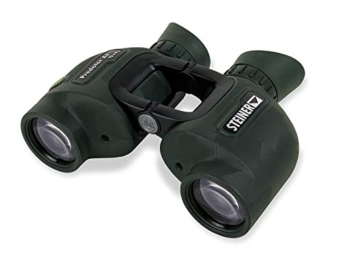Steiner Predator AF 10×42 Binoculars – High Clarity – Always Focused – Color Adjusted Transmission – Open-Bridge Design – Hunting Essentials – Military-Grade Porro Prism Tough