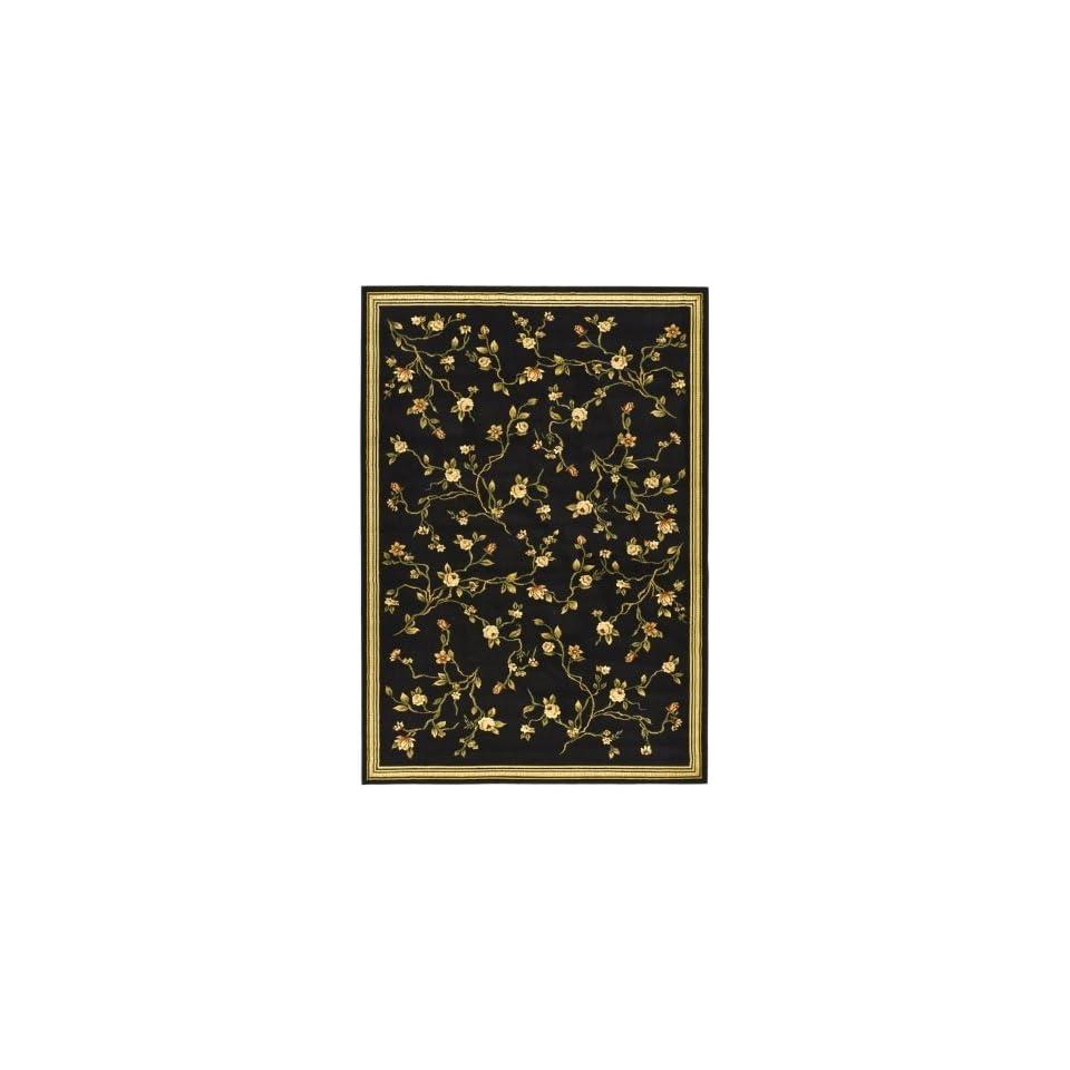 Safavieh Lyndhurst Collection LNH220A Area Rug, 8 Feet  by 11 Feet, Black